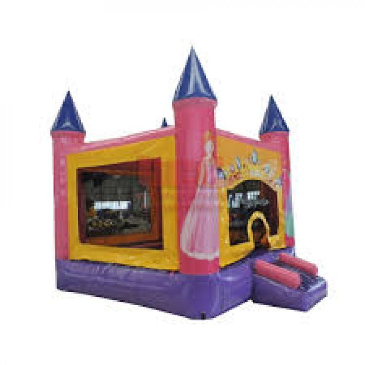 Princess20Bounce 124451505 big 2 in 1 Princess Bounce (with Hoop)