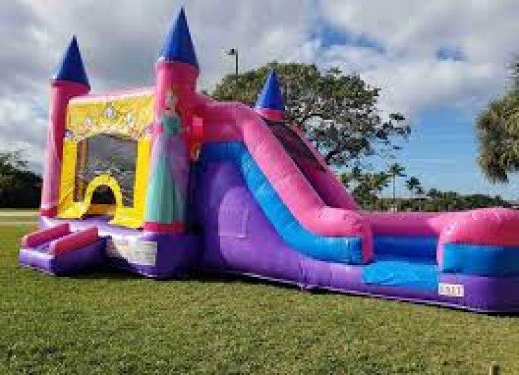 pjns 453643171 big Princess Jump n Slide